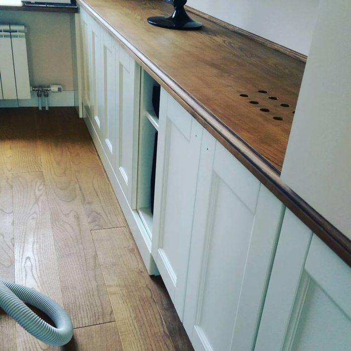 Kuhinja bela drvo