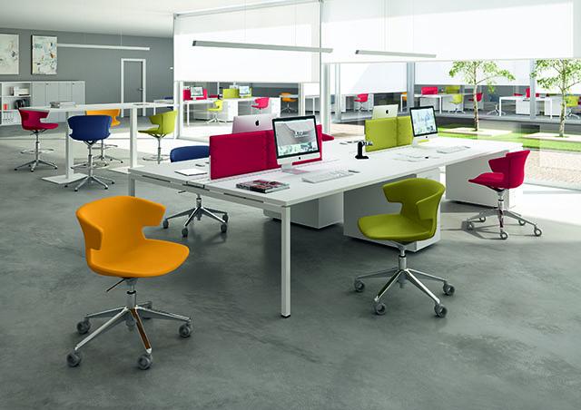 Kancelarijske stolice u bojama