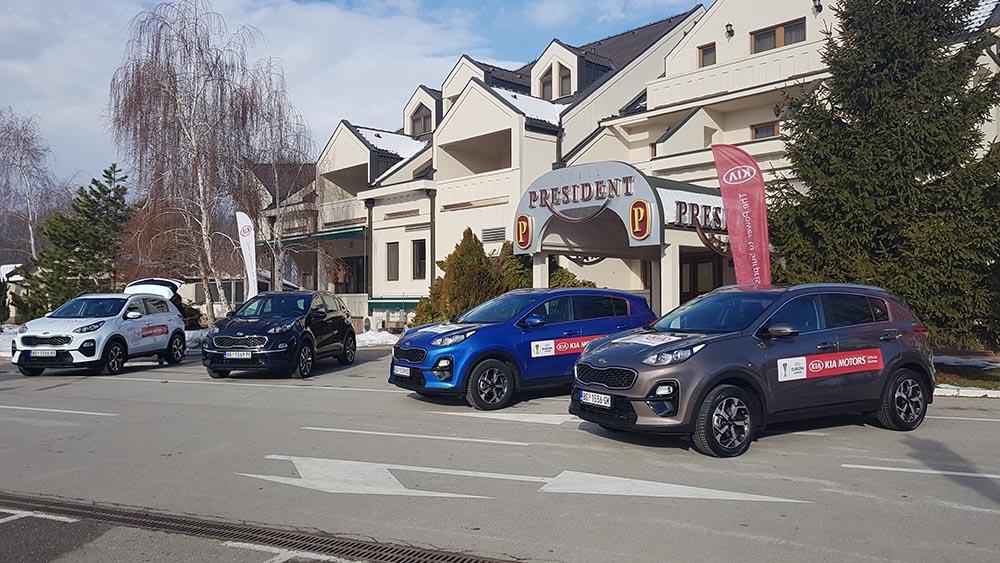 Kia Sportage 2019 Kovilovo