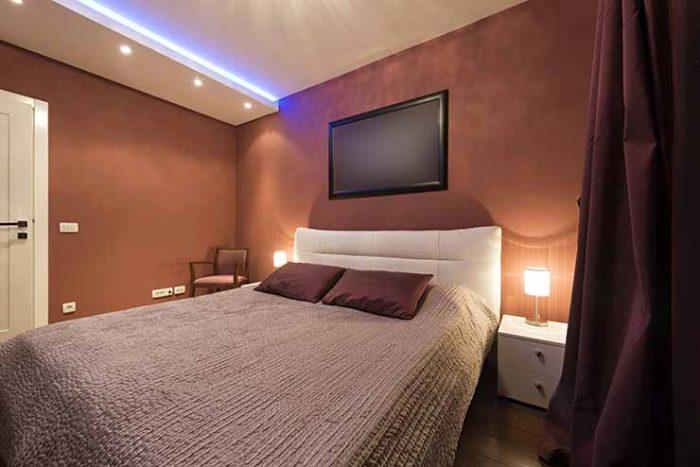 Led rasveta za spavacu sobu