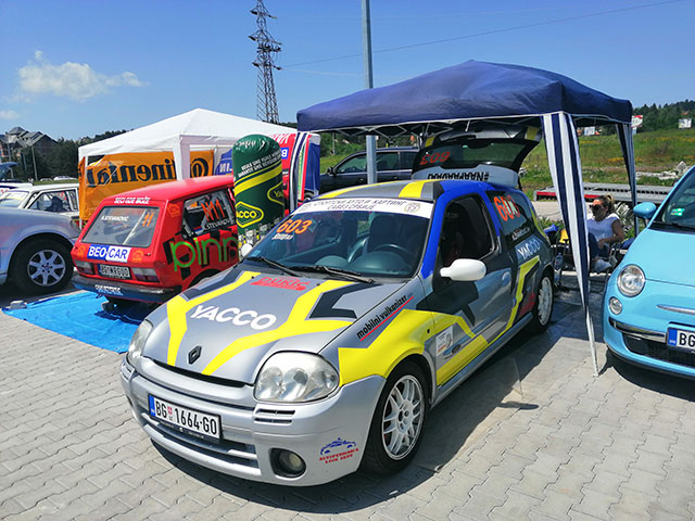 Auto slalom Zlatibor 2019